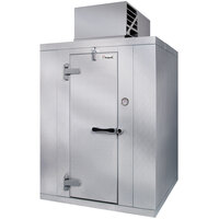 Kolpak P7-812-FT 8' x 12' x 7' 6 inch Indoor Walk-In Freezer with Aluminum Floor
