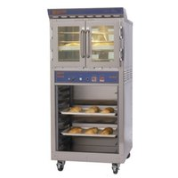Doyon JA4SC Jet Air Single Deck Electric Convection Oven with Storage Cabinet - 8 kW