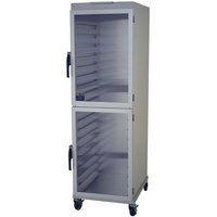 NU-VU HW-2G 18 Pan End Load Enclosed Bun / Sheet Pan Rack - Assembled