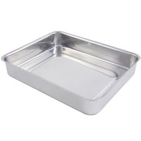 Bon Chef 60016 Cucina 3 Qt. Stainless Steel Small Food Pan - 11 5/8 inch x 9 3/8 inch x 2 1/8 inch