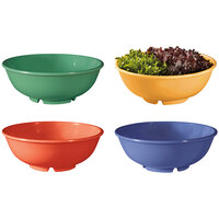 GET B-24-MIX Diamond Mardi Gras 24 oz. Melamine Bowl, Assorted Colors - 12 / Case