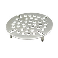 Advance Tabco K-411 Replacement Strainer Plate for K-63 Drains