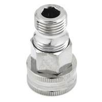 T&S 003105-40 Adapter with 3/4 inch GH Female and 1/2 inch NPT Male Connections