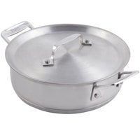 Bon Chef 60022 Cucina 1 Qt. 24 oz. Stainless Steel Round Casserole with Lid