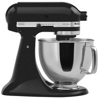 KitchenAid KSM150PSCV Caviar Artisan Series 5 Qt. Countertop Mixer