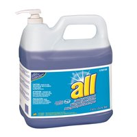 2 Gallon Diversey 95769100 All High Efficiency Liquid Laundry Detergent - 2 / Case