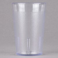 Cambro 800P152 Colorware 7.8 oz. Clear Plastic Tumbler - 6 / Pack
