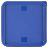 Blue Square Lid for 12, 18, and 22 Qt. Food Storage Containers
