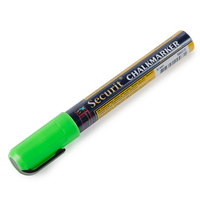 American Metalcraft BLSMA510GR Securit All-Purpose Small Tip Green Marker - 2 / Pack