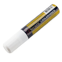 American Metalcraft BLSMA720WT Securit All-Purpose Jumbo Tip White Marker