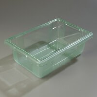 Carlisle 10611C09 StorPlus Green Food Storage Box - 18 inch x 12 inch x 6 inch