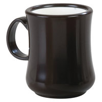 Carlisle 800401 8 oz. Brown Diablo Mug - 36/Case
