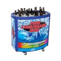 Blue Avalanche II 4030 Mobile 90 qt. Cooler Merchandiser