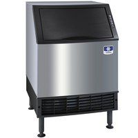 Manitowoc UD-0240W NEO 26 inch Water Cooled Undercounter Full Size Cube Ice Machine with 80 lb. Bin - 201 lb.