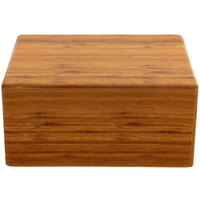 Elite Global Solutions M1065 Fo Bwa Rectangular Faux Bamboo Melamine Modular Riser - 10 inch x 6 inch x 5 inch