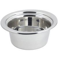 Bon Chef 5360 12 inch x 12 inch x 6 inch Stainless Steel 5 Qt. Bolero Design Casserole Food Pan