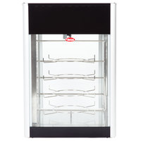 Hatco FDWD-1 Flav-R-Fresh Humidified Impulse Pizza / Hot Food Display Cabinet With 4 Tier Circle Rack