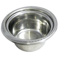 Bon Chef 5350 10 inch x 9 inch x 5 inch Stainless Steel 2 Qt. Bolero Design Casserole Food Pan