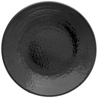 Elite Global Solutions D638RR Pebble Creek Black 6 3/8 inch Round Plate