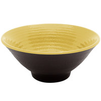 Elite Global Solutions D1005RR Pebble Creek Olive Oil-Colored 14 oz. Bowl