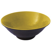 Elite Global Solutions D1007RR Pebble Creek Olive Oil-Colored 24 oz. Bowl