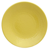 Elite Global Solutions D814RR Pebble Creek Olive Oil-Colored 8 1/4 inch Round Plate
