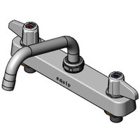 Equip by T&S 5F-8CLX06 Deck Mount Faucet with 8 inch Centers and 6 inch Swing Nozzle