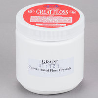 Great Western Great Floss 1 lb. Purple Grape Cotton Candy Concentrate Sugar