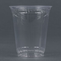 Fabri-Kal Greenware GC7 7 oz. Customizable Compostable Clear Plastic Cold Cup - 50/Pack