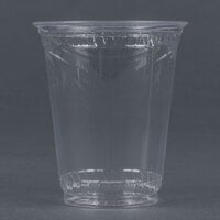 Fabri-Kal Greenware GC7 7 oz. Customizable Compostable Clear Plastic Cold Cup - 50 / Pack
