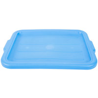 Vollrath 1522-C04 Blue 20 inch x 15 inch Polypropylene Recessed Bus Box Cover