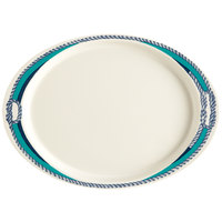 GET OP-145-FP Freeport 14 3/4 inch Oval Platter - 12/Case
