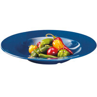 GET B-1611-TB Texas Blue 16 oz. Full Rim Bowl - 12 / Case