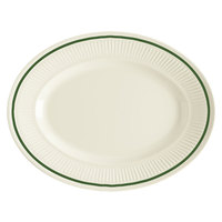 GET EP-12-K Kingston 11 3/4 inch Oval Platter - 24 / Case