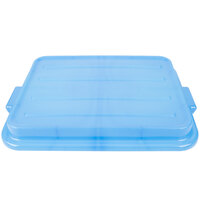 Vollrath 1500-C04 Blue 15 inch X 20 inch Snap-On Polypropylene Lid for Traex Color-Mate Food Storage Box