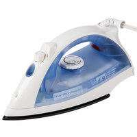 Hamilton Beach HIR200R White Non-stick Hospitality Iron, Steam & Dry with Auto Shut Off - 120V, 1200W