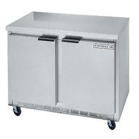 Beverage Air WTR34Y 34 inch Shallow Depth Worktop Refrigerator - 5.5 cu. ft.