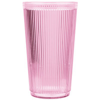 Carlisle 402055 Rose Crystalon Stack-All SAN Tumbler 20 oz.   - 12/Case