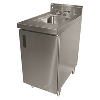 Advance Tabco SHK-180 Stainless Steel Sink Cabinet - 18 inch Width