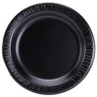 Dart Solo 7PBQR Quiet Classic 7 inch Black Laminated Round Foam Plate - 1000/Case