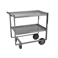 Advance Tabco UCS-1 Stainless Steel 2 Shelf Utility Cart - 21 inch x 39 1/2 inch x 35 1/4 inch