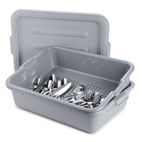 5 inch Perforated Gray Drain Soak Box
