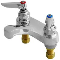 T&S B-0871-CR-WS 1.5 GPM WaterSense Deck Mount Centerset Faucet with 4 inch Centers and Cerama Cartridges
