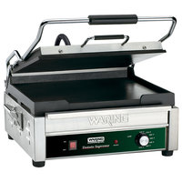 Waring WFG275 14 inch x 14 inch Tostato Supremo Smooth Top & Bottom Sandwich Toasting Grill