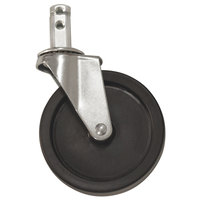 Advance Tabco RA-25 5 inch Swivel Stem Caster