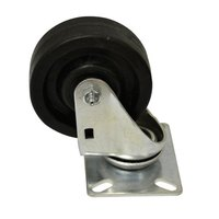 Advance Tabco RA-30 4 inch Swivel Plate Caster with Built-In Zerk Grease Fitting