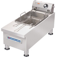 Bakers Pride HDEF-15S 15 lb. Electric Commercial Countertop Fryer