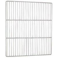 All Points 26-2647 White Epoxy Coated Wire Shelf - 21 1/2 inch x 25 inch