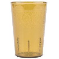 Carlisle 552613 8 oz. Amber SAN Plastic Stackable Tumbler - 72 / Case