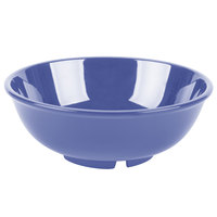 GET B-24-PB Diamond Mardi Gras 24 oz. Peacock Blue Melamine Bowl   - 12/Case
